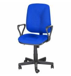 Кресло EChair-301 PJP/blue для оператора, ткань, цвет синий