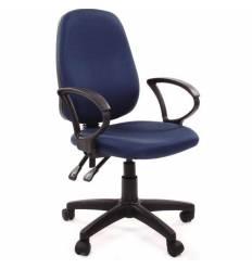 Кресло EChair-318 AL/blue для оператора, ткань, цвет синий