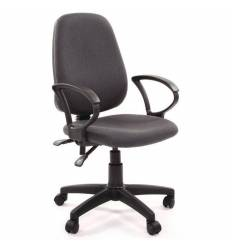 Кресло EChair-318 AL/grey для оператора, ткань, цвет серый