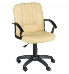 Кресло Echair-328 PPU/beige для руководителя, экокожа, цвет бежевый
