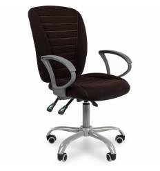 Кресло CHAIRMAN 9801 ERGO/BLACK для оператора, ткань, цвет черный