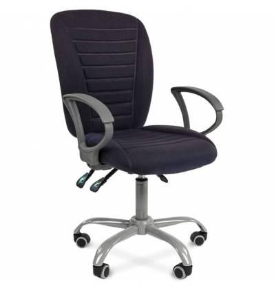 Кресло CHAIRMAN 9801 ERGO/BLUE для оператора, ткань, цвет темно-синий