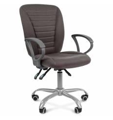 Кресло CHAIRMAN 9801 ERGO/GREY для оператора, ткань, цвет серый