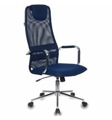 Кресло Бюрократ KB-9/DB/TW-10N для руководителя, цвет синий
