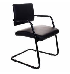 Кресло Бюрократ CH-271-V/OR-16 для посетителя, цвет черный