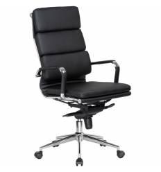 Кресло LMR-103F/black для руководителя, экокожа, цвет черный