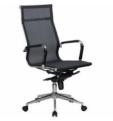 Кресло LMR-111F/black для руководителя, сетка, цвет черный