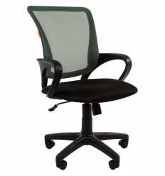 Кресло CHAIRMAN 969 GREEN для оператора, сетка/ткань, цвет зеленый/черный