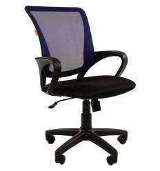Кресло CHAIRMAN 969 BLUE для оператора, сетка/ткань, цвет синий/черный