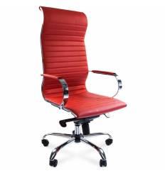 Кресло CHAIRMAN 710/red для руководителя, экокожа, цвет красный