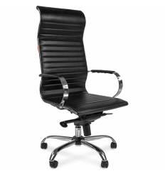 Кресло CHAIRMAN 710/black для руководителя, экокожа, цвет черный