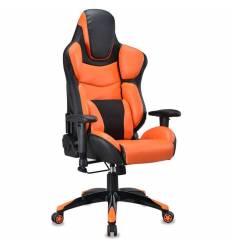 Кресло Бюрократ CH-773/BLACK+OR игровое, черный/оранжевый