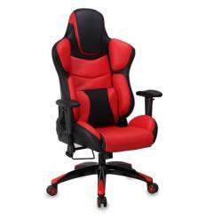 Кресло Бюрократ CH-773/BLACK+R игровое, черный/красный