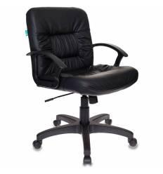 Кресло Бюрократ KB-7/BLACK для руководителя, искусственная кожа, цвет черный