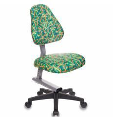 Кресло Бюрократ KD-8/PENCIL-GN детское, цвет зеленый карандаши
