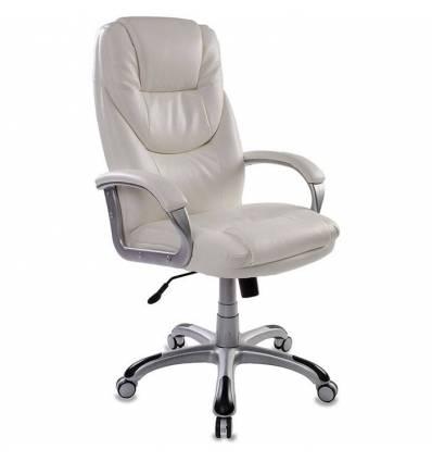 Кресло Бюрократ T-9905S/WHITE для руководителя, цвет белый
