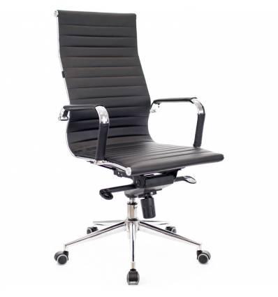 Кресло EVERPROF RIO M PU Black для руководителя, экокожа, цвет черный