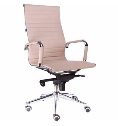Кресло EVERPROF RIO M PU Beige для руководителя, экокожа, цвет бежевый
