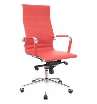 Кресло EVERPROF RIO M PU Red для руководителя, экокожа, цвет красный