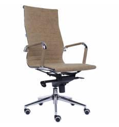 Кресло EVERPROF RIO M PU Brown для руководителя, экокожа, цвет коричневый