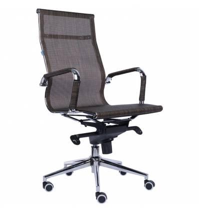 Кресло EVERPROF OPERA Mesh Brown для руководителя, сетка, цвет коричневый