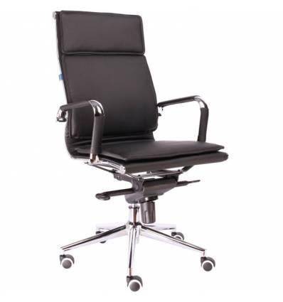 Кресло EVERPROF NEREY Black для руководителя, экокожа, цвет черный