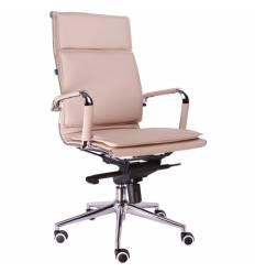 Кресло EVERPROF NEREY Beige для руководителя, экокожа, цвет бежевый