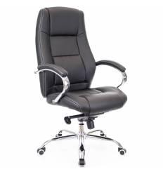 Кресло EVERPROF KRON PU Black для руководителя, экокожа, цвет черный
