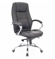 Кресло EVERPROF KRON Black для руководителя, кожа, цвет черный