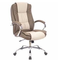 Кресло EVERPROF KLIO PU Beige для руководителя, экокожа, цвет бежевый