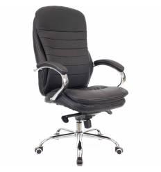 Кресло EVERPROF VALENCIA PU Black для руководителя, экокожа, цвет черный