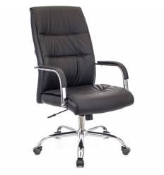 Кресло EVERPROF BOND Black для руководителя, кожа, цвет черный