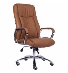Кресло EVERPROF GRAND PU Camel для руководителя, экокожа, цвет коричневый