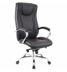 Кресло EVERPROF ARGO Black для руководителя, кожа, цвет черный