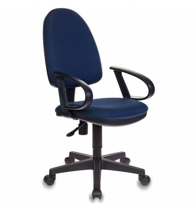 Кресло Бюрократ CH-300/BLUE для оператора, цвет синий