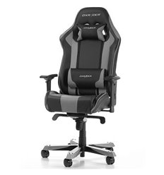 Кресло DXRacer OH/KS06/NG King Series, компьютерное, цвет черный/серый