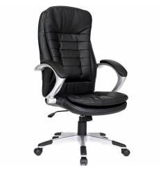 Кресло Good-Kresla Robert Black для руководителя, цвет черный