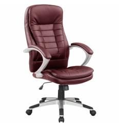 Кресло Good-Kresla Robert Burgundy для руководителя, цвет бордовый