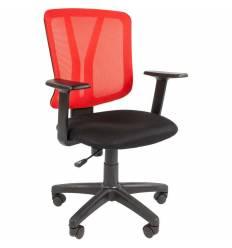 Кресло CHAIRMAN 626/RED для оператора, сетка/ткань, цвет красный/черный