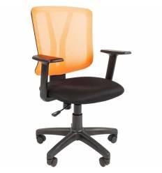 Кресло CHAIRMAN 626/ORANGE для оператора, сетка/ткань, цвет оранжевый/черный