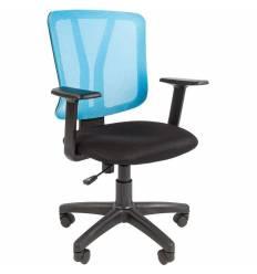 Кресло CHAIRMAN 626/BLUE для оператора, сетка/ткань, цвет синий/черный