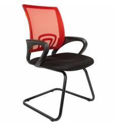 Кресло CHAIRMAN 696 V/RED для посетителя, сетка/ткань, цвет красный/черный