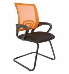 Кресло CHAIRMAN 696 V/ORANGE для посетителя, сетка/ткань, цвет оранжевый/черный