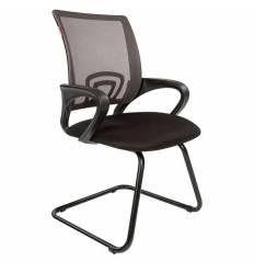Кресло CHAIRMAN 696 V/GREY для посетителя, сетка/ткань, цвет серый/черный
