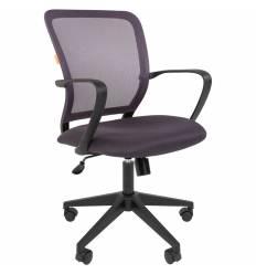 Кресло CHAIRMAN 698/GREY для оператора, сетка/ткань, цвет серый
