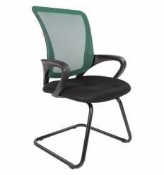Кресло CHAIRMAN 969 V/GREEN для посетителя, сетка/ткань, цвет зеленый/черный