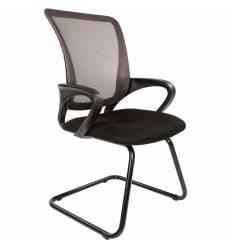 Кресло CHAIRMAN 969 V/GREY для посетителя, сетка/ткань, цвет серый/черный