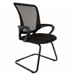 Кресло CHAIRMAN 969 V/BLACK для посетителя, сетка/ткань, цвет черный