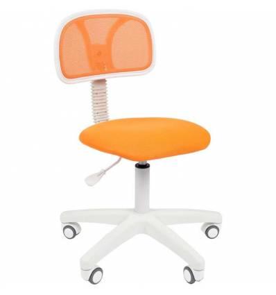 Кресло CHAIRMAN 250 WHITE/ORANGE для оператора, белый пластик, цвет оранжевый