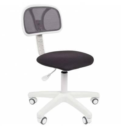 Кресло CHAIRMAN 250 WHITE/GREY для оператора, белый пластик, цвет серый